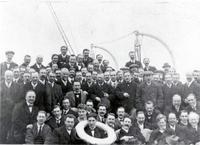 The London Symphony on the SS Baltic