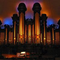 The Aeolian-Skinner organ in Salt Lake City