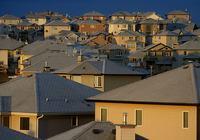 Suburbia, houses, town