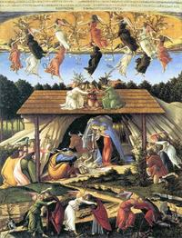 The Mystical Nativity (1501) by Sandro Botticelli