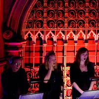 Gavin Byars Ensemble Singers (John Potter,  Ziella Bryars and Orlanda Bryars)
