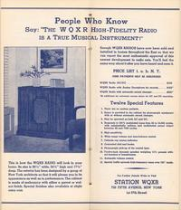 The WQXR Radio