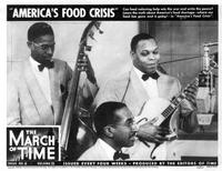 The Leonard Ware Trio came to the WQXR studios for a March 1943 edition of The March of Time newsreel