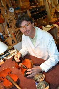 Emmanuel Gradoux-Matt, a violin dealer located on East 28th Street, says that dealers like Machold have led him to make significant changes in his business practices