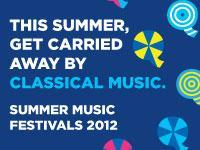 WQXR Summer Festivals logo