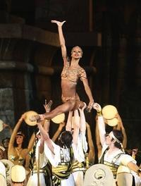 Myrna Kamara, lead guest dancer in 'Aida' at Arena di Verona