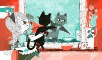 Alice wonders about mirror milk