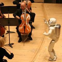 Honda's ASIMO conducting