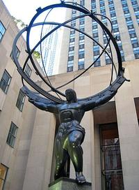 Atlas at Rockefeller Center, NYC
