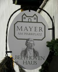 Mayer am Pfarrplatz: Beethoven's home in 1817
