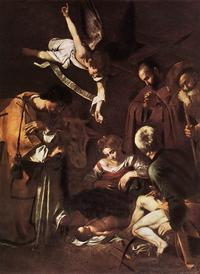oil on canvas by Michelangelo Merisi da Caravaggio