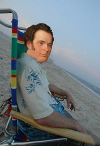 Franz Schubert on the Beach