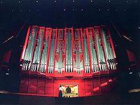 1997 Rieger organ at Christchurch Town Hall, New Zealand