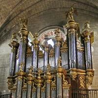 1741 Moucherel organ at Cintegabelle Monastery, France