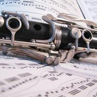 clarinet on sheet music