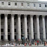 The Federal Courthouse in Lower Manhattan.