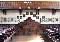 The Cambridge Union Society Debating Chamber