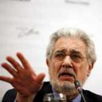 Plácido Domingo at a press conference last week to address the Teatro Colón labor dispute in Buenos Aires.