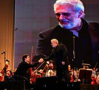 Plácido Domingo following a recent concert performance in Buenos Aires.