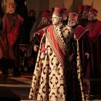 Plácido Domingo in the title role of 'Simon Boccanegra'