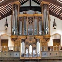 1992 Jaeckel organ at Pilgrim Congregational Church, Duluth, Minnesota