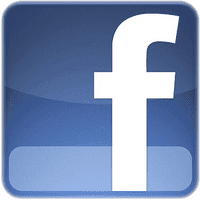 small square facebook logo social networking