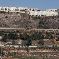 The Israeli settlement of Gilo.