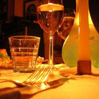 utensils glasses