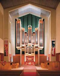 1998 Glatter-Götz; Rosales organ at Claremont United Church of Christ, California