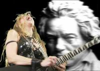 The Great Kat riffs on Beethoven