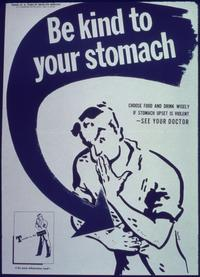'Be kind to your stomach'