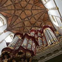 1738 Müller organ at Sint Bavokerk [Saint Bavo Church], Haarlem, The Netherlands