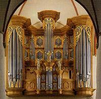 1693 Schnitger organ at Jacobikirche, Hamburg, Germany