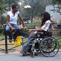 Helga Davis and Harold McClendon at Union Square
