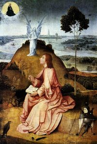 St John the Evangelist on Patmos by H. Bosch