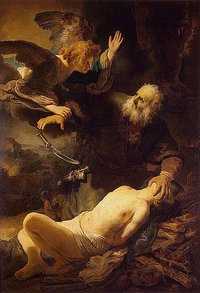 Rembrandt's Sacrifice of Issac