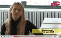 Karen Jacobsen, the voice behind a GPS device