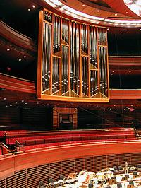Fred J. Cooper Memorial Organ [2006 Dobson, Opus 76] at the Kimmel Center for the Performing Arts, Verizon Hall, Philadelphia, Pennsylvania
