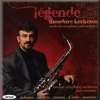 Saxophonist Theodore Kerkezos