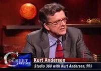Kurt Andersen on The Colbert Report