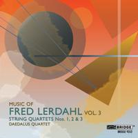 Fred Lerdahl's String Quartets 1-3