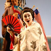 Shu-Ying Li as Madama Butterfly at the New York City Opera