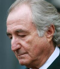 Financier Bernard Madoff leaves Manhattan Federal court March 10, 2009 in New York City.
