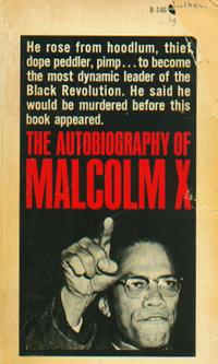 'The Autobiography of Malcolm X,' first edition paperback