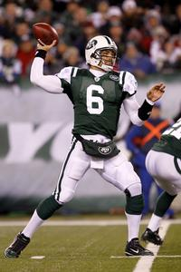 Quarterback Mark Sanchez #6 of the New York Jets