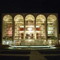 Met Opera House at night