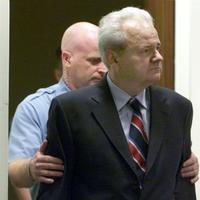 Slobodan Milosevic at the Hague