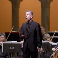 Bass-baritone Daniel Mobbs as Oroveso in 'Norma' at Caramoor. He plays the title role in Rossini's 'William Tell.'