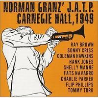 Norman Granz' JATP Carnegie Hall 1949 album cover