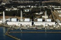 Quake-damaged Fukushima nuclear power plant in Japan